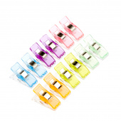 Missouri Star Colorful Quilting Clips - Pack of 12