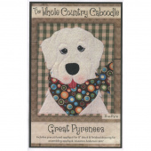 Great Pyrenees Precut Fused Appliqué Pack