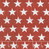 Live Free - Stars Set Red Yardage