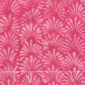 Floralicious Batiks - Vertical Plumes Primrose Yardage