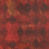 Seasons - Diamonds Spice Digitally Printed Yardage