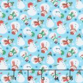 Jolly Season - Snowman Frost Yardage