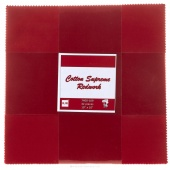 Cotton Supreme Redwork Patty Cake