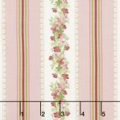 Sensibility - Petite Stripe Pink Yardage
