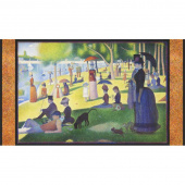 Seurat - Artist Series People Park Digitally Printed Panel