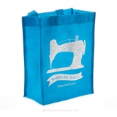 Missouri Star Small Shopping Tote Bright Blue