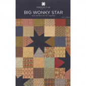 Big Wonky Star Quilt Pattern by Missouri Star