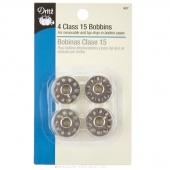 Metal Bobbins - Class 15 (4 ct)