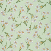 Magnificent Blooms - Iris Sage Yardage