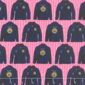 FFA Forever Blue - Jacket Pink Yardage