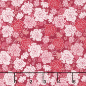 Garden Delights - Carnation Pink/Red Yardage