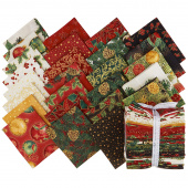 Holiday Flourish 13 Holiday Metallic Fat Quarter Bundle