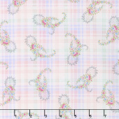 Morning in the Garden - Paisley Pink Yardage