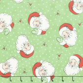 Swell Christmas - Santa Green Yardage