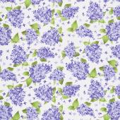 Elizabeth - Lilacs Natural Yardage