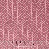 Pond - Diamond Stripes Rose Yardage