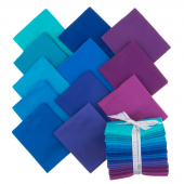 Kona Cotton - Peacock Palette Fat Quarter Bundle