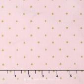 Wonderland 2 - Cards Pink Sparkle Yardage