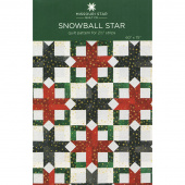 Snowball Star Quilt Pattern by Missouri Star