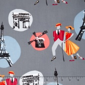 An American in Paris - A Turner Classic Movie Dancers Gray Yardage