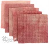 Candied Peach Wool Charm Pack