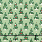 Christmas Traditions - Trees Green Yardage