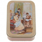 Vintage Inspired Sewing Kit Tin - Assorted Designs