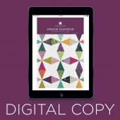 Digital Download - Wedge Diamond Pattern by Missouri Star