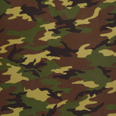 "108"" Quilt Back - Camouflage Green 108"" Wide Backing"