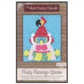 Floaty Flamingo Gnome Precut Fused Appliqué Pack