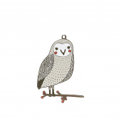 Merriment Owl Ornament