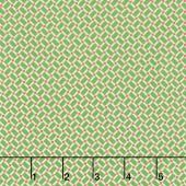 Arbor Blossom - Arbor Geometric Green Yardage