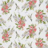 Magnificent Blooms - Bouquet Medium Cloud Multi Yardage