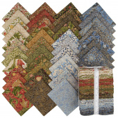 Morris Holiday Metallic Fat Quarter Bundle