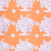 Kaffe Fassett Collective Fall 2018 - Stone Flower Orange Yardage