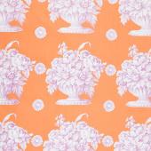 Kaffe Fassett Collective Fall 2018 - Stone Flower Orange Yardage