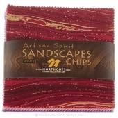 Artisan Spirit - Sandscapes Blush/Violet Metallic Chips