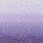 Ombre Confetti Metallic - Iris Yardage