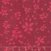 Bazaar Rayon Batiks - Flowers Magenta Yardage