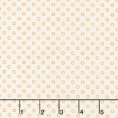 Aunt Grace Backgrounds - Dots Peach Yardage