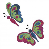 Butterfly Bliss Fusible Appliqué Shapes