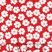 Badda Bing! - Cherry Blooms Red Yardage