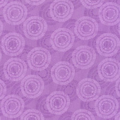 Wilmington Essentials - Circle Burst Grape Yardage