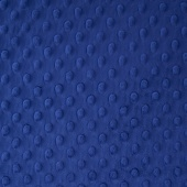 "Cuddle Embossed Dimple - Midnight Blue 60"" Minky Yardage"