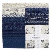 """Abigail Blue 10"""" Squares"""