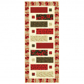 Gilded Blooms Buttoned Up Table Runner Kit