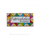 Fabricaholics Pin by Pin Peddlers