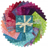 Petal Pushers Batiks Stamps