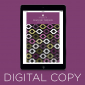 Digital Download - Diamond Terrace Quilt Pattern by Missouri Star