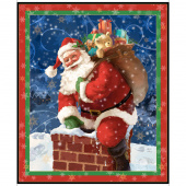 Gifts from Santa - Santa Digitally Printed Panel
